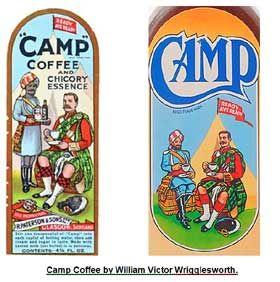 017b4812b0a original & 2nd Camp labels. Original label by William Victor ...