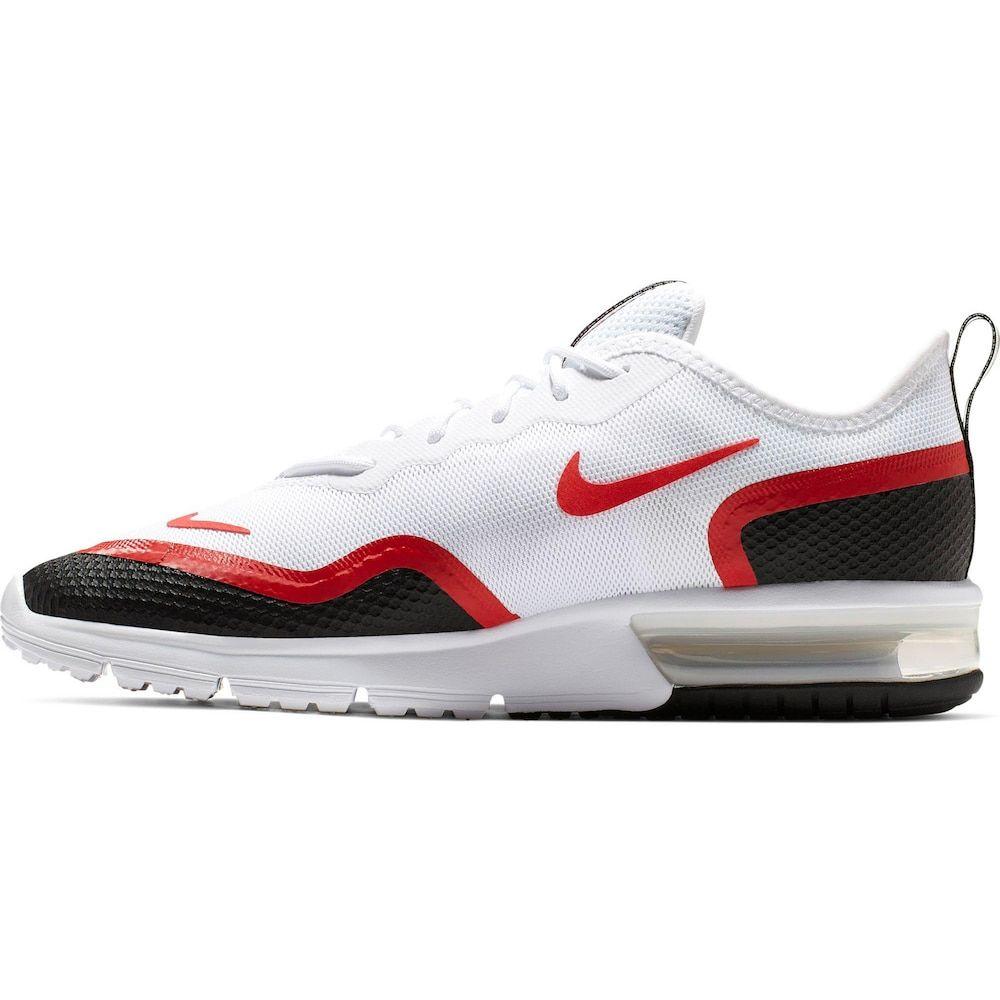 Nike Sportswear Sneaker Air Max Sequent 4 5 Herren Rot Schwarz Weiss Grosse 42 5 Nike Schuhe Outfits Nike Sportswear Und Turnschuhe Nike