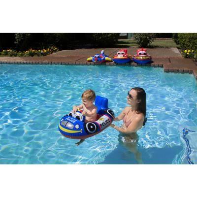 Poolmaster Police Car Baby Swimming Pool Float Rider Pool Toy 05405 The Home Depot Baby Swimming Swimming Pool Floats Baby Swimming Lessons