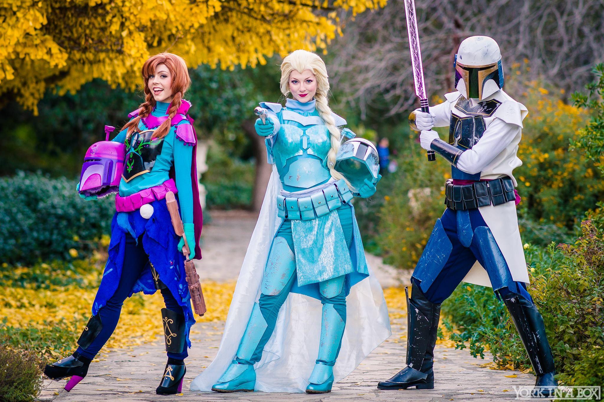 star wars disney cosplay frozen  e8825f596