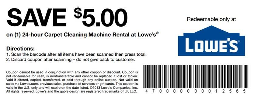 Printable Coupons Lowes Home Improvement