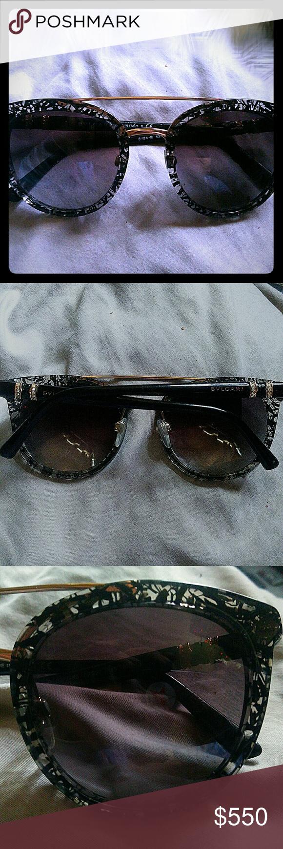 1657aae4ada EUC BVLGARI SUNGLASSES tortiseshell authentic EUC tortoise shell sunglasses  authentic from BVLGARI . No case.