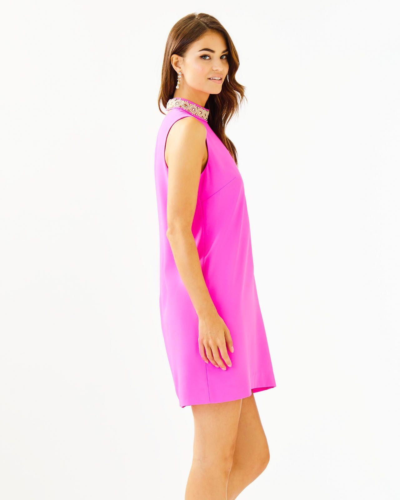 Brandi Beaded Stretch Shift Dress Shift Dress Preppy Dresses Trendy Outfits Inspiration [ 1600 x 1280 Pixel ]