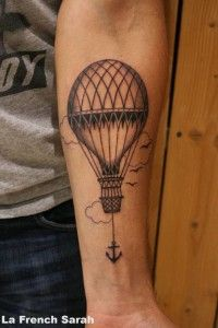 montgolfiere tattoo