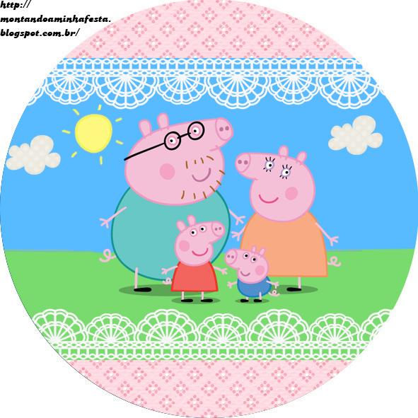 Convite Peppa Pig, Convites para Imprimir, convites para imprimir peppa pig,  Festa personalizada Peppa pig, Familia Peppa pig, Como fazer festa peppa  peg, ...