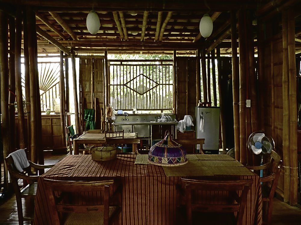 The Virtues Of Bamboo Bamboo House Bamboo House Design Filipino House