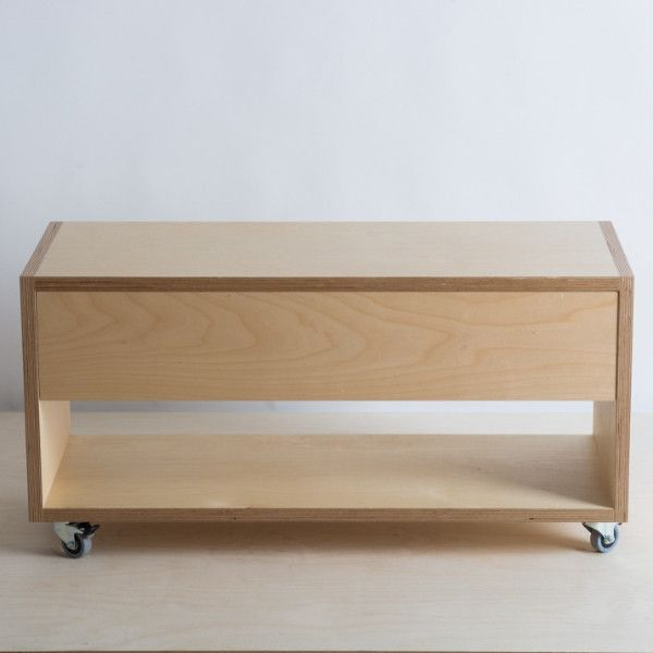 Entertainment Unit 800 Wide Plywood Furniture Coffee Table With Drawers Furniture