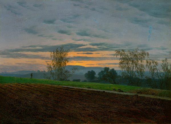 Landschaftsmalerei romantik friedrich  Caspar David Friedrich | Time travels | Pinterest | Malerei ...