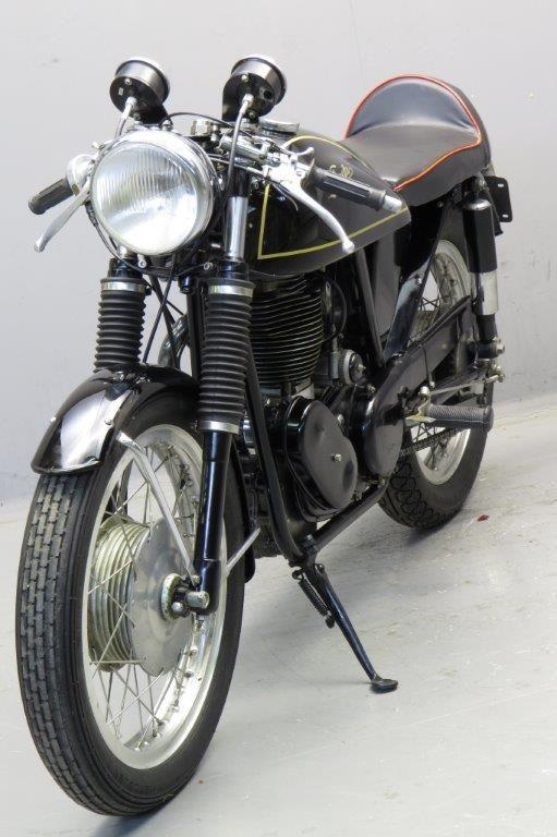 Velocette 1971 / 73  Venom Clubman  Reg Orpin Special 1 cyl 500cc