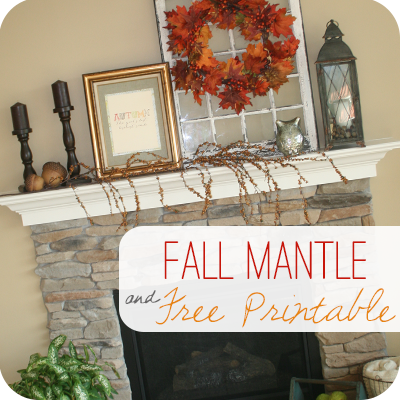 Fall Mantle Decor is part of Fall mantle, Fall mantle decor, Mantle decor, Fall thanksgiving decor, Fall halloween decor, Fall mantel - Download this free Fall Printable and follow easy directions to create an easy framed piece of Fall Mantle Decor