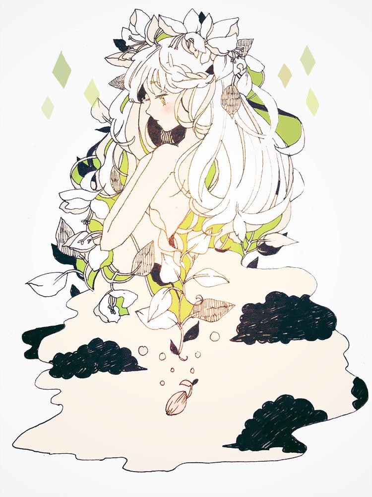 Miss basil tofuvi art paintings and drawings dessin dessin manga manga - Dessins manga fille ...