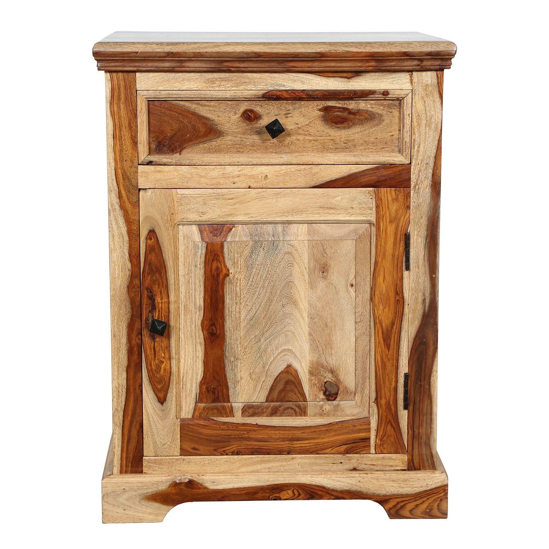 Handmade Taos Sheesham Nightstand (India) Sheesham wood