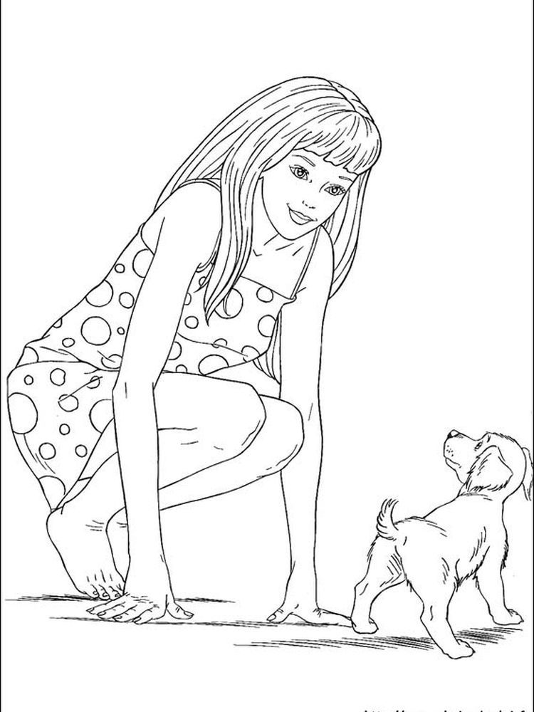 Coloring Pages Barbie Video Game Hero You Can Ask All Girls In The World Who Doesn T Know Barbie The Answer Will Be Only One No One No Girl Doesn T Know Ba