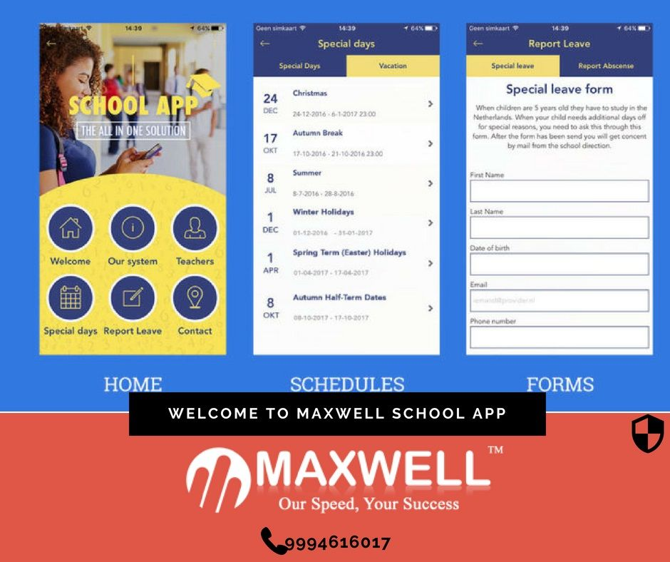 """Best school app for parents or school management mobile"