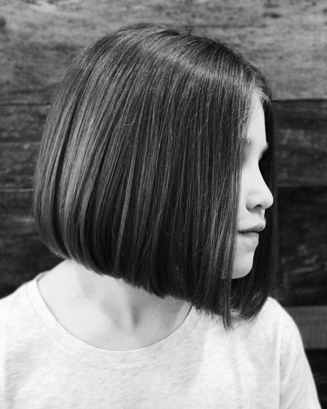 Tbt Of A One Length Bob I Did On Hadpayan I M So Excited That She S Coming In For A Haircut Today One Length Hair One Length Haircuts One Length Bobs