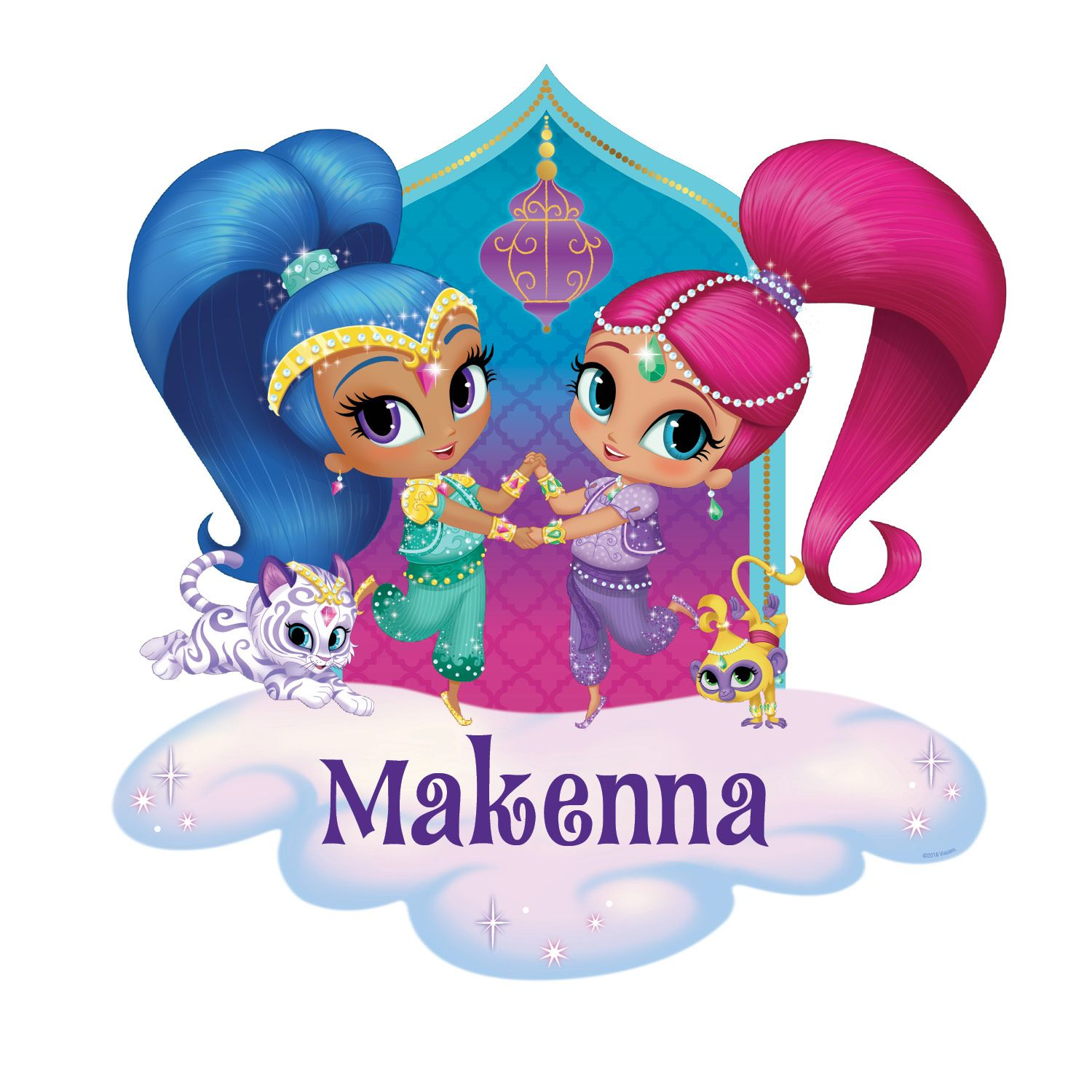 Shimmer and Shine Room Personalized Decal | Tv's Toy Box ...