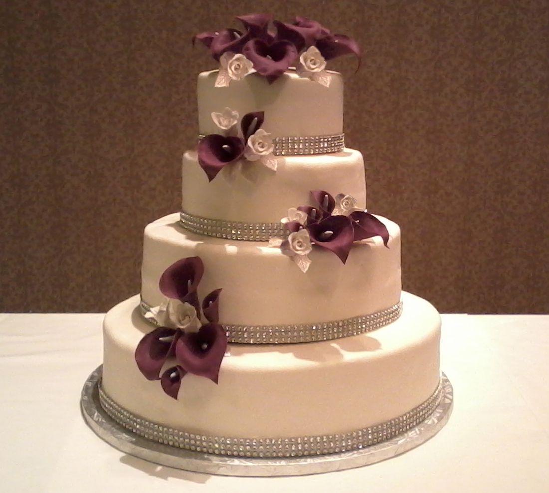 Wedding Cake Ideas Pinterest: Pin Lilac Diamond Wedding Anniversary Cake On Pinterest