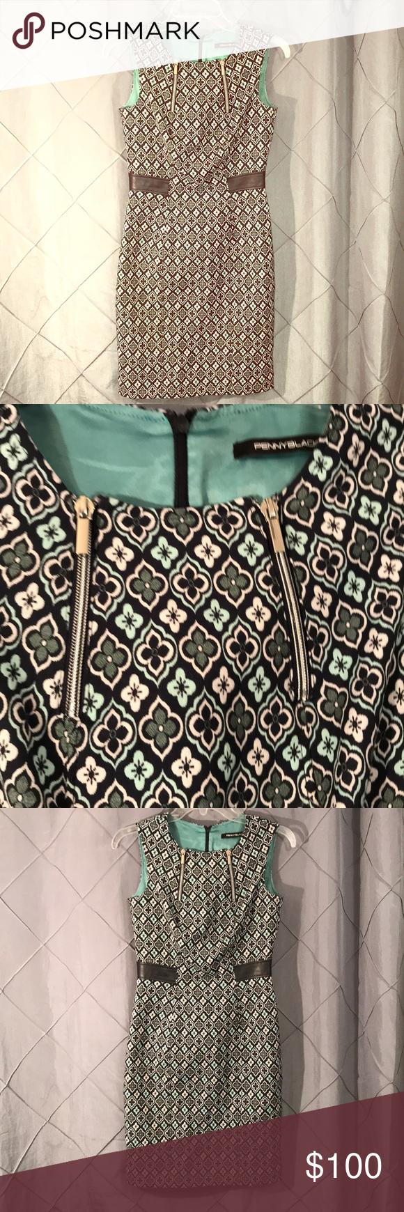 Penny Black Strait Pencil Dress Zipper Sleath S Dress Zipper Pencil Dress Penny Black [ 1740 x 580 Pixel ]