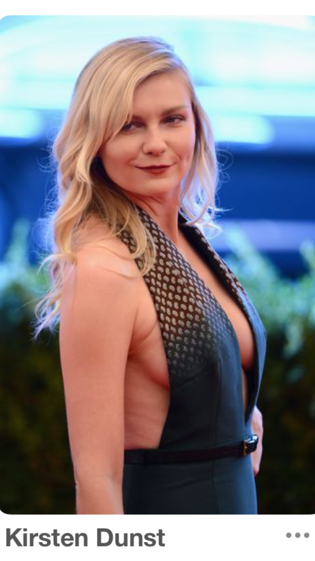 Kirsten dunst old lady tits nudes (27 images)
