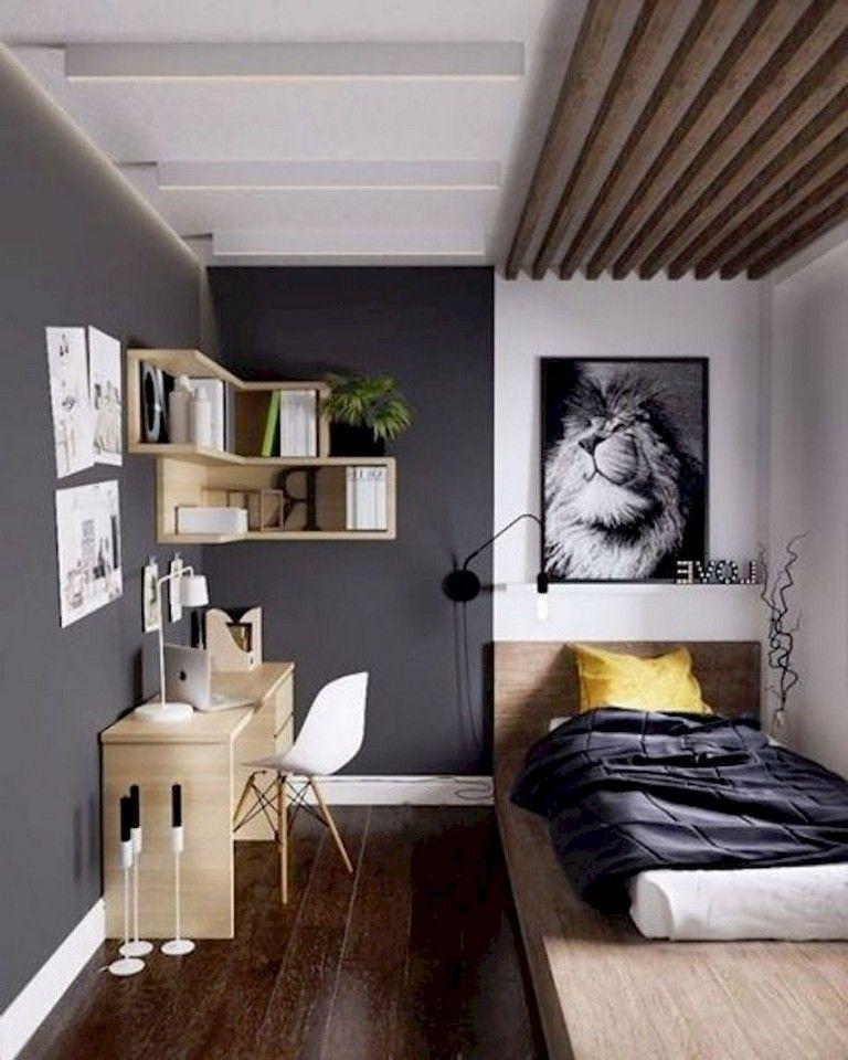 63 Intelgent Studio Apartment Decorating Ideas Bedroom Interior Small Room Design Minimalist Bedroom Decor Minimalist small bedroom interior design
