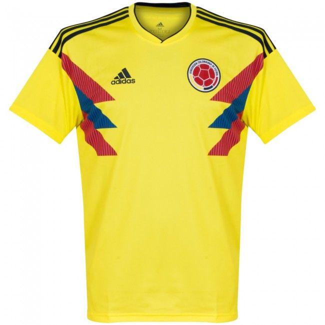 60b03ea18d716 Camiseta Mundial Colombia 2018-2019 Local  shirt  style  football  fútbol