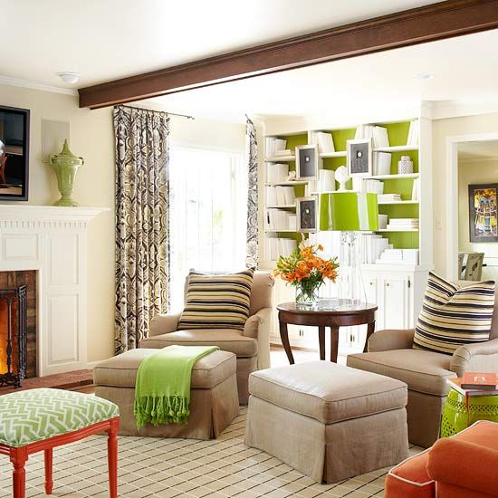 Our Best Tips For Choosing And Using Color Cozy Living Roomsliving Room Greenneutral