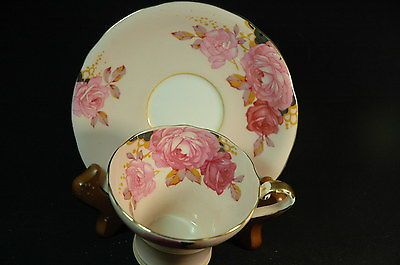 Aynsley-Pink-Corsetted-Roses-Cup-and-Saucer