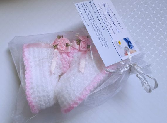 Baby Booties Crochet Baby Girls Booties by PreciousNewbornKnits