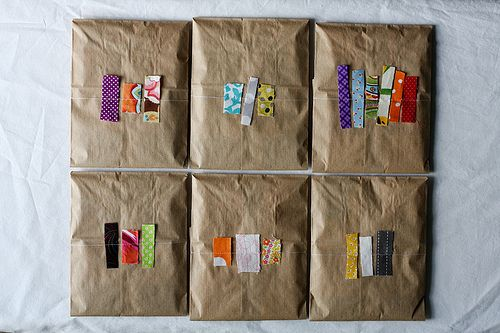 Scrappy Packaging Tutorial by Jen of  In Color Order