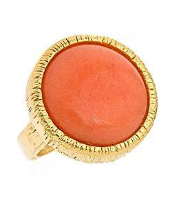 Yochi Coral Ring