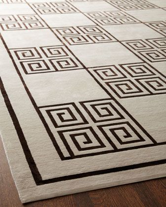 """Greek+Key""+Rug+by+Exquisite+Rugs+at+Horchow."