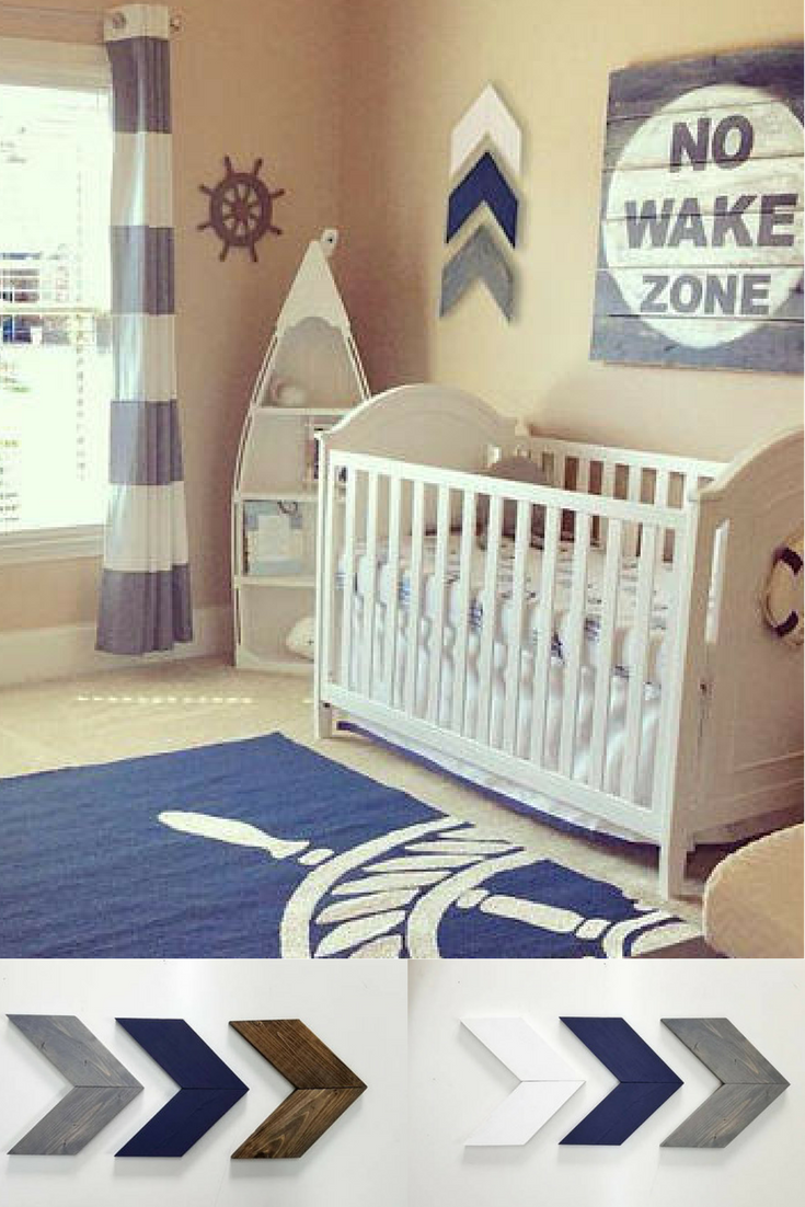 Cute Baby Boy Nursery Ideas: Cute Nautical Nursery Idea