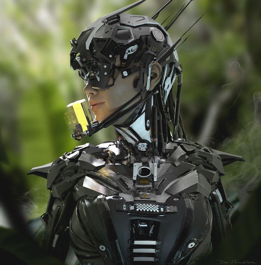 Cyberpunk Art Киберпанк メカ 少女, サイバーパンクファッション, コスプレ 衣装