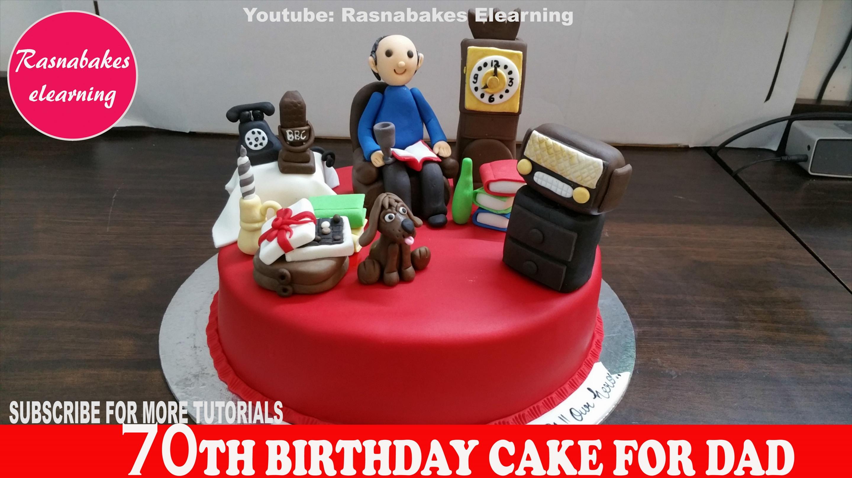 Cake Birthday Happy Quotes Papa