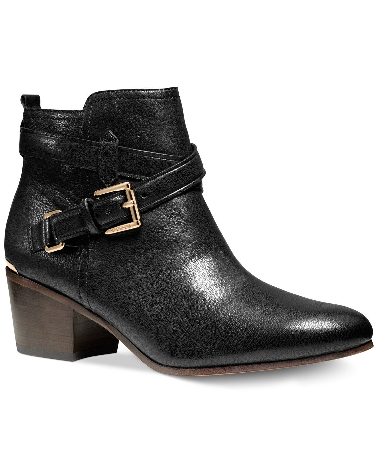 17596d814e34 COACH PAULINE BOOTIES - Macy s I want these!