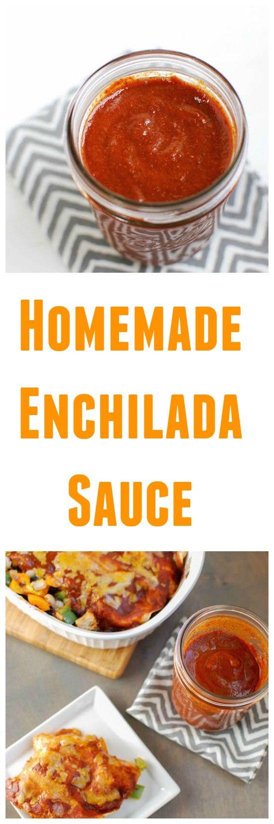 Homemade Enchilada Sauce | Recipe | Homemade enchilada ...