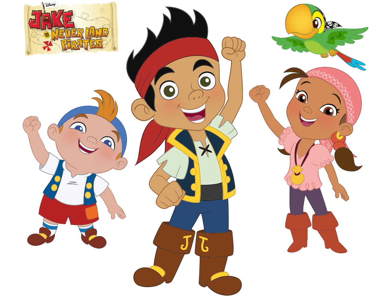 Disneys Jake And The Neverland Pirates Show Disney Junior Her