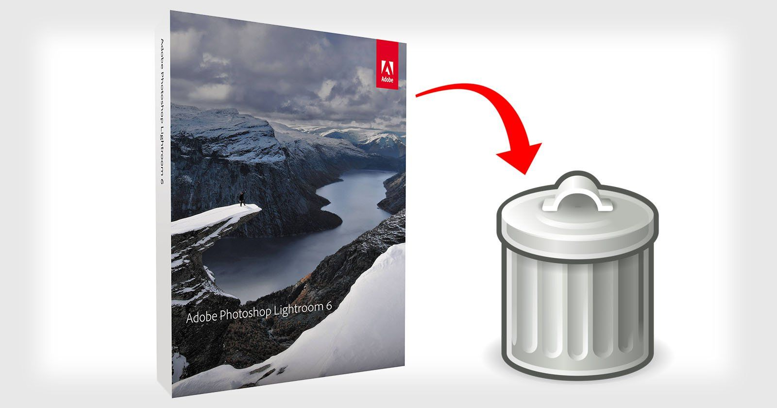 Adobe Updater Deletes Lightroom 6: Here's How to Get It Back