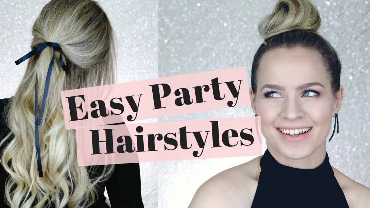 easy holiday party hairstyles ndash hair tutorial heres a hair