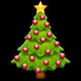 Christmas Tree Emoji On Whatsapp 2 19 352 Classic Christmas Tree Christmas Tree Christmas Ornaments