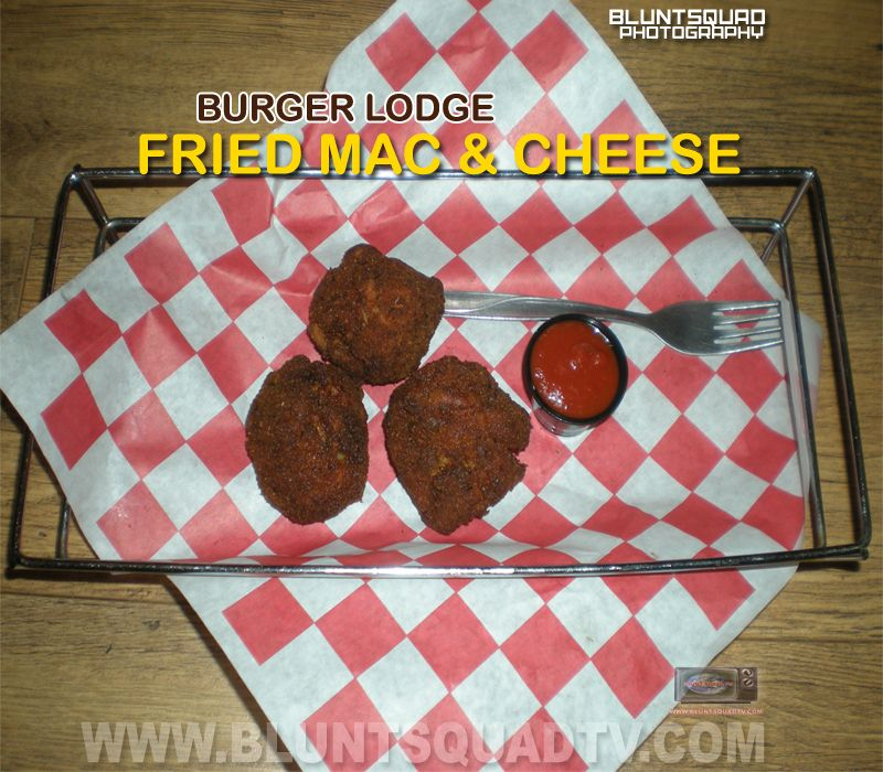 Fried mac cheese balls burgerlodge in the bronx ny 10