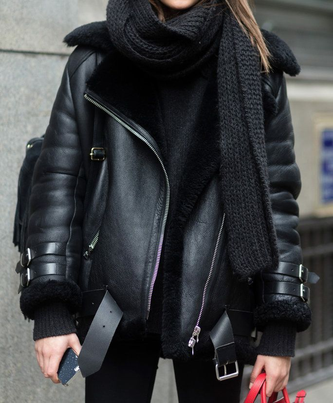 Your wardrobe isn't complete without a leather jacket in your closet