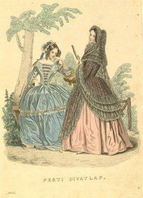 1864 divatlap-melleklet