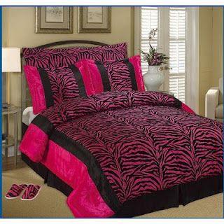 Hot Pink Stuff Hot Pink Bed Sheets Zebra King Size Flocking