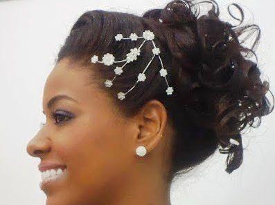 Remarkable 2015 Cute African American Wedding Hairstyles African American Hairstyles For Women Draintrainus
