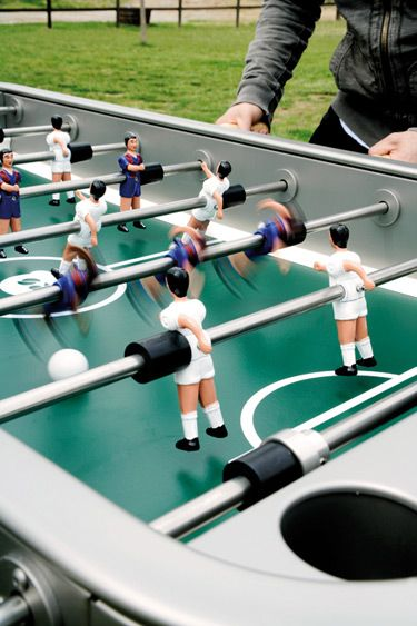 Outdoor Foosball Table Fully Customizable With Women Players If