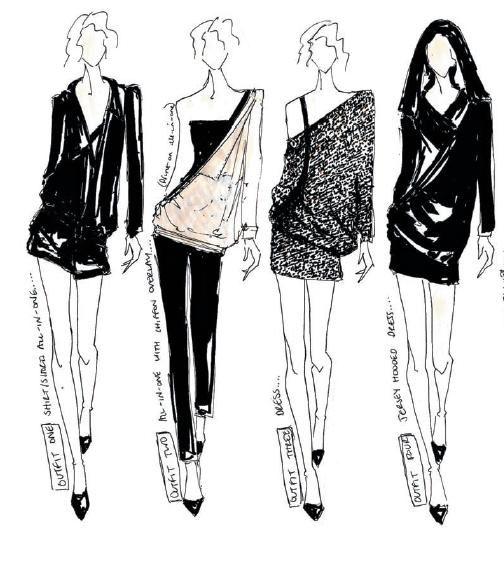 245f33819e4 как рисовать эскизы одежды - Поиск в Google