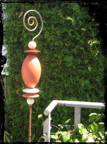 keramik stelen f r den garten google suche monique pinterest keramik garten und. Black Bedroom Furniture Sets. Home Design Ideas