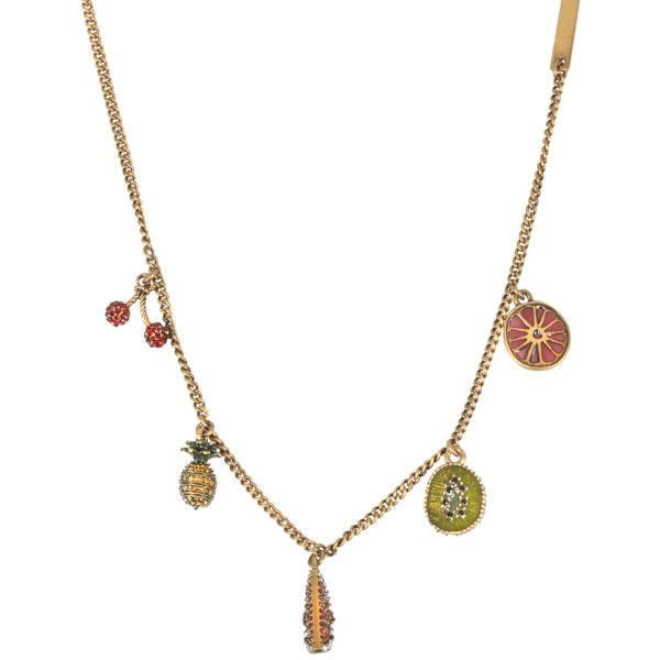 Marc Jacobs Tropical Charm Necklace 0zVpl6y