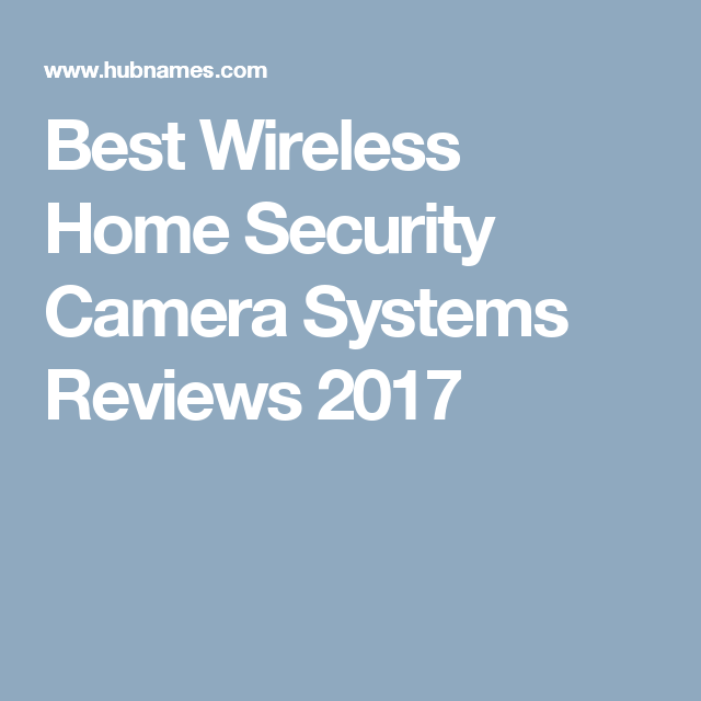 Best Home Wireless Home Security System